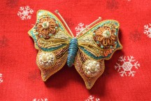 Butterfly brooch.