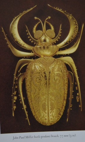 Gold beetle by John Paul Miller.