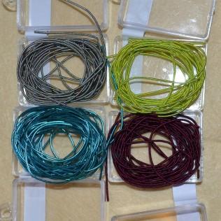 Coloured purls