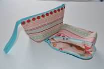 Finished pouches.