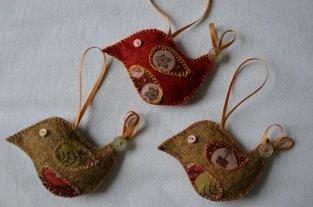 Christmas robins.