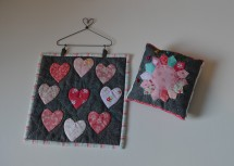 Banner and pincushion