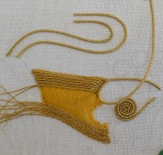 Metal passing and pearl purl