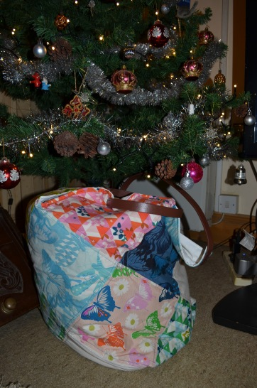 A huge tote bag
